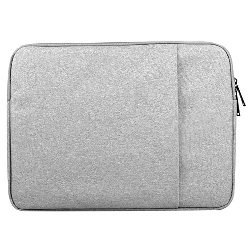 KOLIU Laptop Sleeve Case 14/15./15.6 Inch Notebook Travel Carrying Bag Waterproof Protective Cover For Macbook Air Pro 13 15 (Color : Gray, Size : 12-inch)