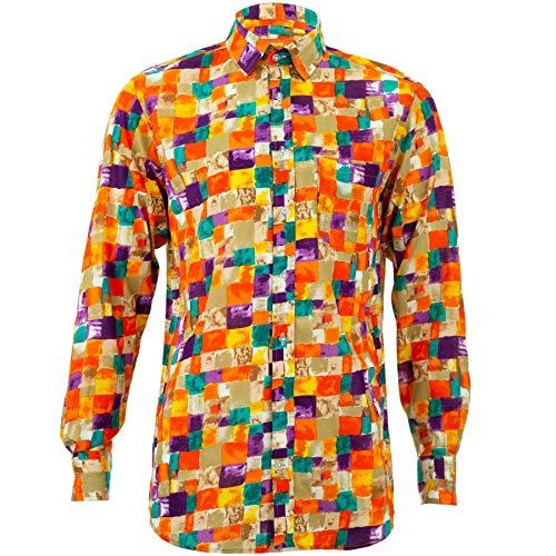 Loud Originelen Regular Fit Shirt met lange mouwen - Paint