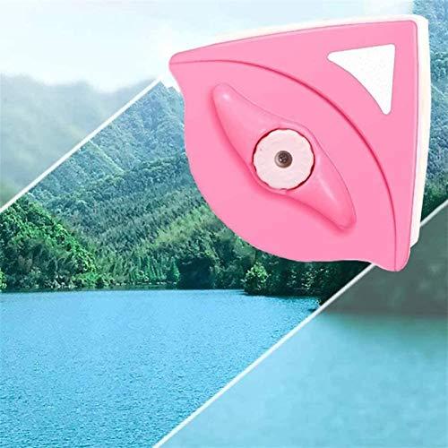 HSJ LF- Limpiador de Ventanas Herramienta magnética Doble - Escritora Limpiador de Cepillo de Vidrio Ajustable 5-25mm Limpio