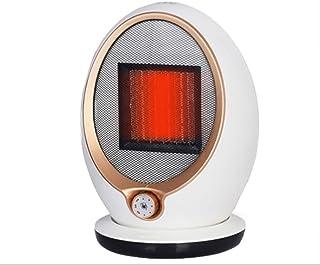 LYzpf Rápido Calentador de Ventilador Sin Radiación Mini Pequeña Cerámica Portátil Calefactor Eléctrico Bajo Consumo de Energía para Habitación Oficina Baño