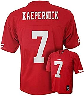 Outerstuff Colin Kaepernick San Francisco 49ers #7 NFL Youth Mid-Tier Jersey Red