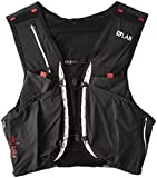 SALOMON Bag S/Lab Sense Ultra 8 Set - Bolsa de hidratación, Unisex Adulto, Negro(Black/Racing Red)