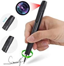 Mini Hidden Camera Pen Camera HD 1080P Video Recorder,Camara Espia, Body Camera Portable Pocket Camera 150 Minutes Battery Life with 32GB SD Card for Business Conference and Security