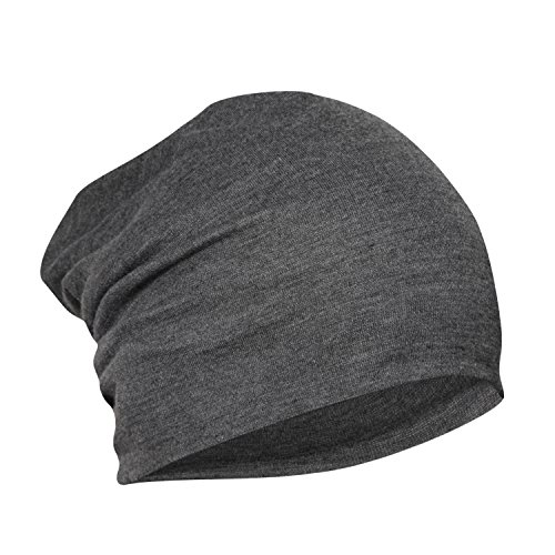 FabSeasons Cotton Slouchy Beanie and Skull Cap for Summer, Winter, Autumn & Spring Season, Can be Used as a Helmet Cap Too