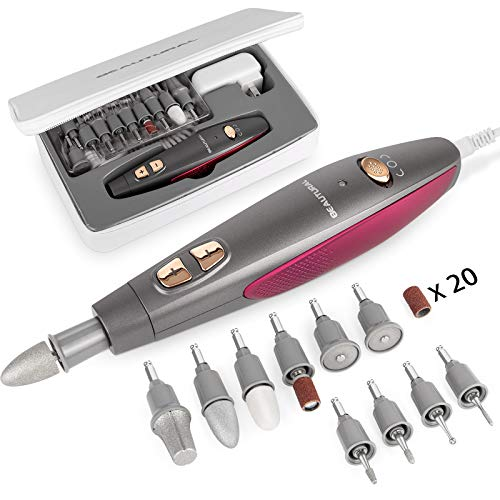 BEAUTURAL Electric Manicure and Pedicure Kit