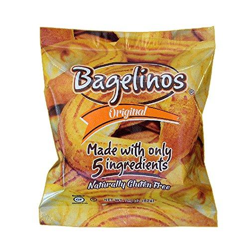 Bagelinos Original Bagel, Gluten-Free, 2.9 OZ each, Box of 18