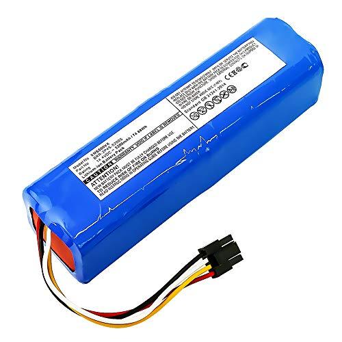 subtel® Batería Premium 14.4V, 5200mAh, Li-Ion Compatible con Xiaomi Mi Robo Mijia Roborock S50,S51,S6/Roborock Sweep One S51,S55,BRR-2P4S-5200S bateria Repuesto aspiradora Pila reemplazo sustitución
