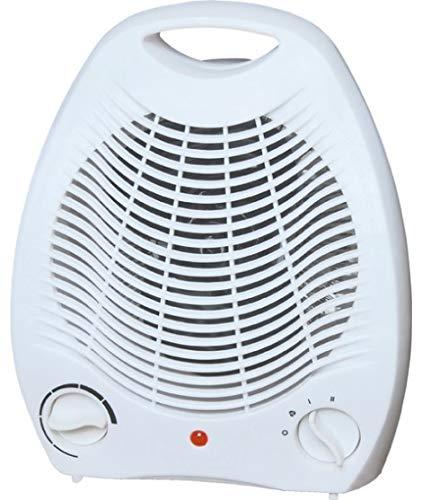 Bomann HL 1096 CB Heizlüfter, 2 Temperaturstufen, Funktion Ventilator 2000 W, Weiß