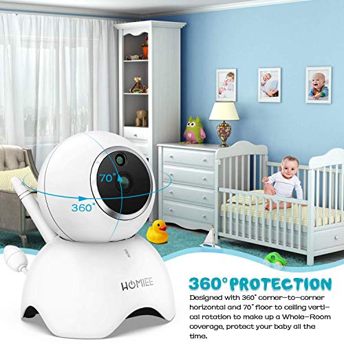 51H6EzRnekL The Best Video Baby Monitors with Smartphone Apps 2021