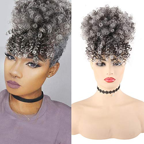 Afro hair pieces ponytails _image3