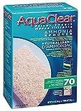 AquaClear Carga de Carbon 70, Removedor de Amonio, 300