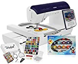 """Brother Innov-is NQ3600D ( NQ 3600D / NQ3600 ) 6"""" x 10"""" Disney Embroidery & Sewing Machine with Grand Slam Bundle Includes 64 Embroidery Threads, 50,000 Designs and More"""