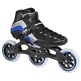 Powerslide Inline Skate R4 Trinity, Negro, 46, 904513/46