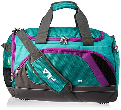 "Fila Advantage 19"" Sport Duffel Bag, Teal, One Size"