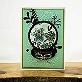 Geburtstagskarte Mint Schwarz Gold Glückwunschkarte Grußkarte Glückwunsch Karte zum Geburtstag Handgemachte Karten Bastelstube