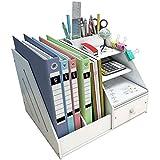 Madera plástico panel Organizador de escritorio, Funcionari