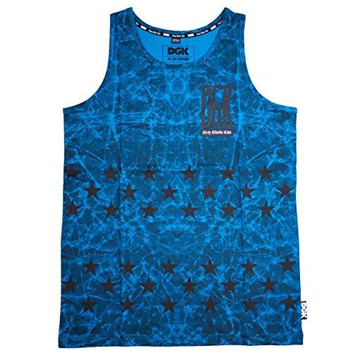Dirty ghetto kids unfollow débardeur - Bleu - X-large