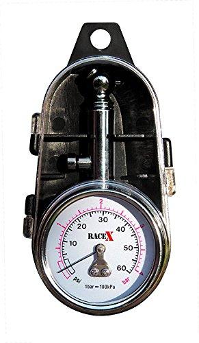 Manómetro presión neumáticos RACE X RX0014
