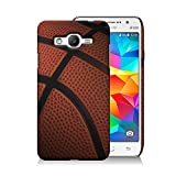 [ Samsung Galaxy Grand Prime / G530 ] CoverON [ Perfect Slim Fit ] Design Hard Back Cover for Samsung Galaxy Grand Prime G530H - Basketball Sport