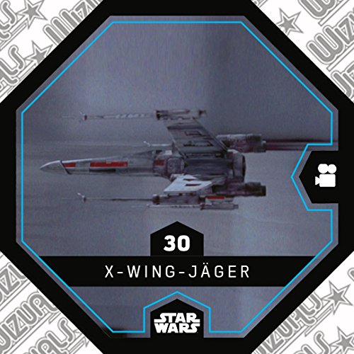 WIZUALS Rewe Star Wars Cosmic Shells Normal 30 X-Wing Jäger Sticker
