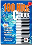100 hits in C-Dur Band 5-100 Oldies, Evegreens, Rock-Folck Pop Songs pour clavier, piano, guitare - Songbook avec pince à partitions colorée en forme de cœur