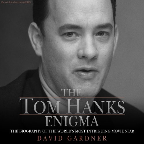 The Tom Hanks Enigma audiobook cover art