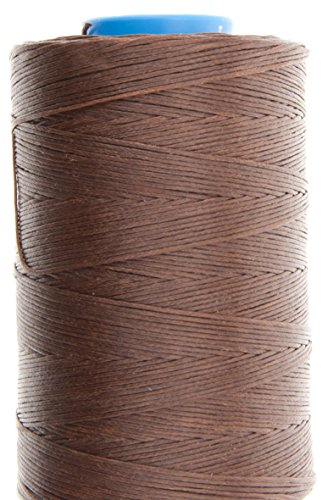 Review Of 1.2mm Mid Brown Ritza 25 Tiger Wax Thread For Hand Sewing. 25 - 125m length (100m)