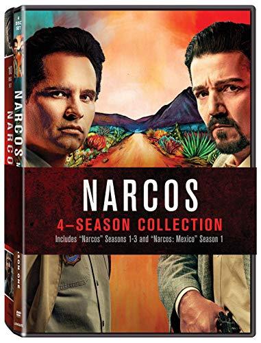 Narcos 4 Season Collection Btb