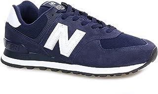 Tênis New Balance 574 Masculino - Marinho e Branco, Cor: Marinho/branco, Tamanho: 39