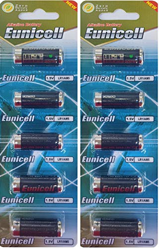 10 x LR1 / N/Lady 1,5V (2 Blister a 5 Batterien) Alkaline Batterie AM5, UM5 4001, 4901, MX9100, 910A...