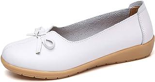 [Fainyearn] レディース ウェッジソールパンプス アーモンドトゥヒール4cm 痛くない ヒールパンプス 厚底 ウェッジヒール 疲れにくい 婦人靴 作業靴 立ち仕事