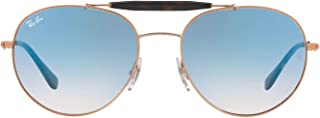 Ray-Ban unisex-adult Metal Unisex Sunglass RB3540 (pack of 1)