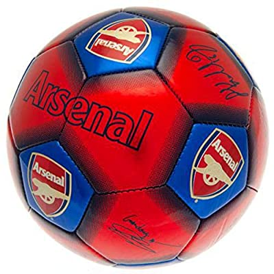Arsenal FC Signature Soccer Ball (One Size) (Red/Blue)
