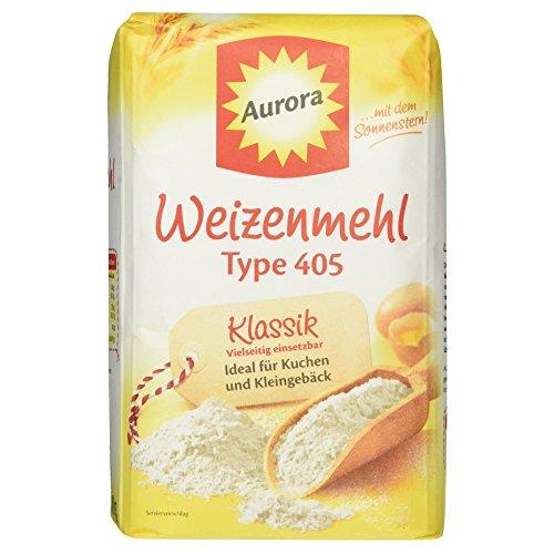 Aurora Weizenmehl Type 405 Klassik, 1kg