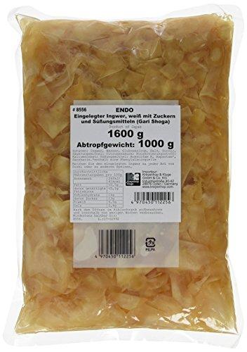 Endo Ingwer, eingelegt, 1er Pack (1 x 1.6 kg Packung)