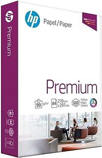 Papel Sulfite A4, HP Premium, 90g, Branco, 500 Folhas