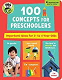 PBS KIDS 100 Concepts for Preschoolers: Important Ideas for 3-4 Year-Olds (8)