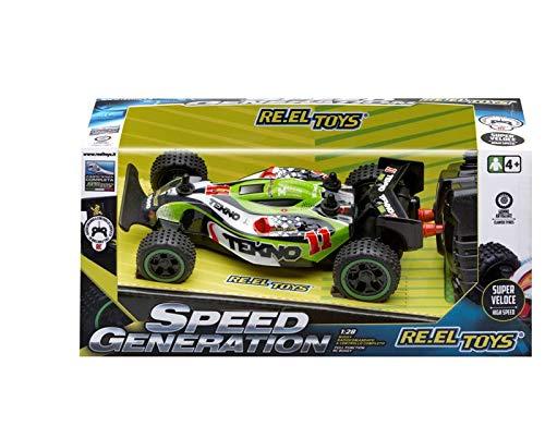 Re.El Toys Speed Generation Dune Buggy Radiocomandato-Scala 1/28-Cm.15, Multicolore, 8001059021628
