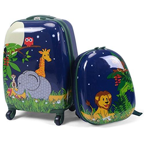 COSTWAY -   2tlg Kinderkoffer +