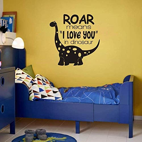 FlyWallD Dinosaur Wall Decals Baby Boy Room Nursery Vinyl Art Quotes Decor Paleontologist Sticker product image