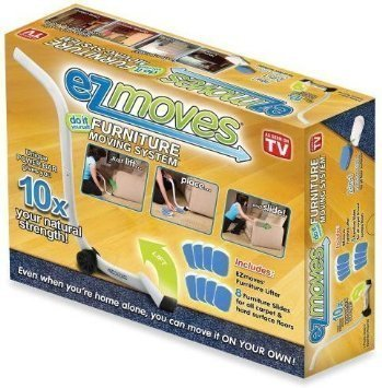 EZ Moves Furniture Moving System with Lifter Tool & 8 Slides by shaung@allstarmg (English Manual)