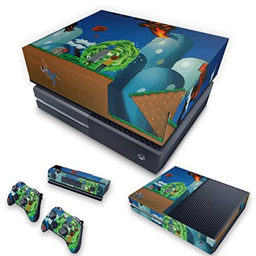 Capa Anti Poeira e Skin para Xbox One Fat - Rick And Morty Mario