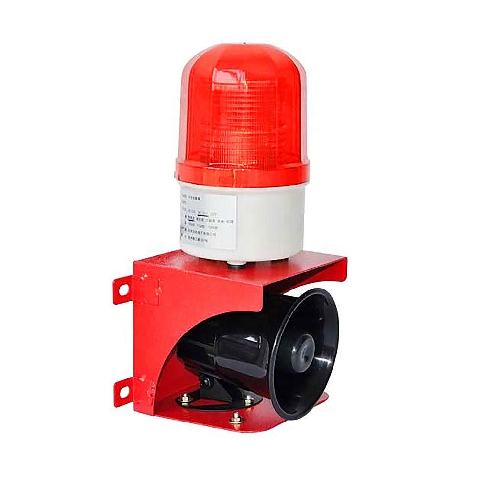 free Siren Alarm LED Warning Light 110dB Strobe Flash Emergency Direct sale of manufacturer