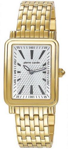 Pierre Cardin PC104852F04 - Reloj analógico para Mujer de Acero Inoxidable Recubierto Blanco