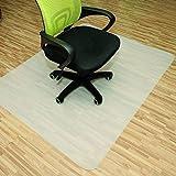 [page_title]-Rapid Teck® Bodenschutzmatten 120cm x 150cm für Hartböden in 6 Größen Bürostuhlunterlage Bodenschutzmatte Semi transparent
