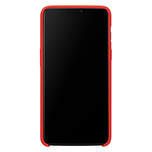 OnePlus 6 Silicone Protective Case (Red)