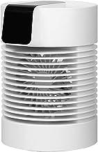 Nishore Ventilador de resfriamento de água Ventilador de mesa Umidificador Ventilador Tipo C Ventilador 2 em 1 Ventilador ...