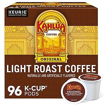 Kahlua Original Single-Serve Keurig K-Cup Pod Light Roast Coffee 24 Count  Pack of 4