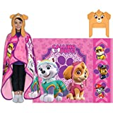 Nickelodeon's Paw Patrol Cutie Pups Cozy Hat and Throw Wrap Set