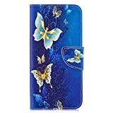 Huawei Y7 2019 Leather Phone Case, Wallet Phone Case Flip